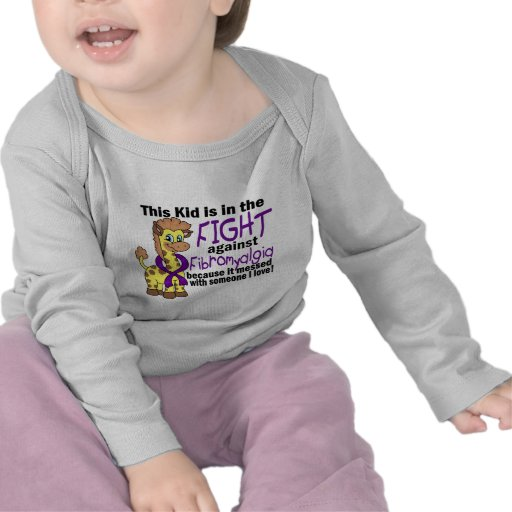 Kid In The Fight Against Fibromyalgia T Shirts