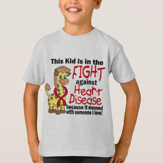 Kid In The Fight Against Heart Disease T-Shirt
