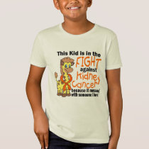 Kid In The Fight Against Kidney Cancer T-Shirt