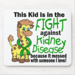 Kid In The Fight Against Kidney Disease Mouse Pads