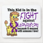 Kid In The Fight Against Leiomyosarcoma Mousepads