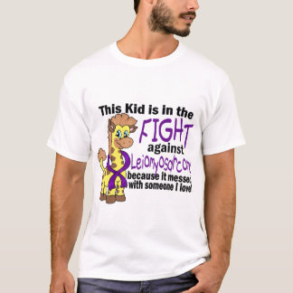 Kid In The Fight Against Leiomyosarcoma T-Shirt