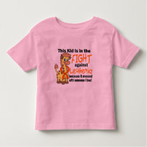 Kid In The Fight Against Leukemia Toddler T-shirt