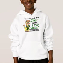 Kid In The Fight Against Liver Cancer Hoodie