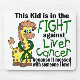 Kid In The Fight Against Liver Cancer Mousepad