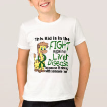 Kid In The Fight Against Liver Disease T-Shirt