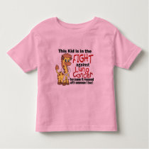 Kid In The Fight Against Lung Cancer Toddler T-shirt