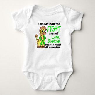 Kid In The Fight Against Lyme Disease Baby Bodysuit