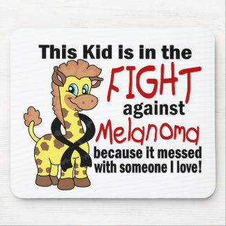 Kid In The Fight Against Melanoma Mouse Pad