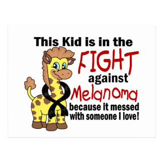 Kid In The Fight Against Melanoma Postcard