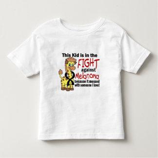 Kid In The Fight Against Melanoma Toddler T-shirt