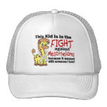 Kid In The Fight Against Mesothelioma Trucker Hat