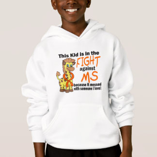 Kid In The Fight Against MS Multiple Sclerosis Hoodie