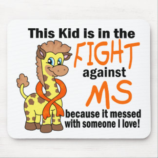 Kid In The Fight Against MS Multiple Sclerosis Mouse Pad