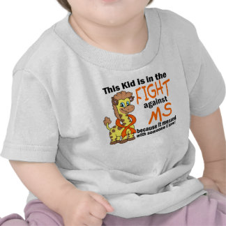 Kid In The Fight Against MS Multiple Sclerosis T Shirt