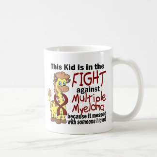 Kid In The Fight Against Multiple Myeloma Classic White Coffee Mug