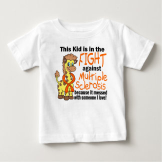 Kid In The Fight Against Multiple Sclerosis Baby T-Shirt
