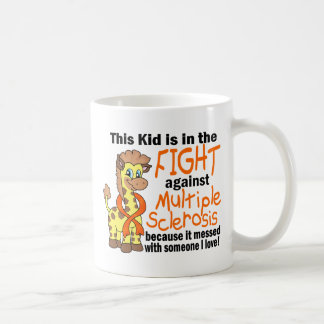 Kid In The Fight Against Multiple Sclerosis Classic White Coffee Mug