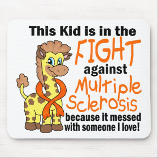 Kid In The Fight Against Multiple Sclerosis Mouse Pad
