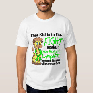 Kid In The Fight Against Non-Hodgkin's Lymphoma T Shirt