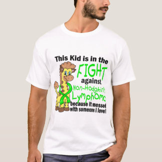 Kid In The Fight Against Non-Hodgkin's Lymphoma T-Shirt