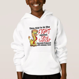 Kid In The Fight Against Oral Cancer Hoodie