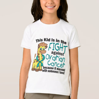 Kid In The Fight Against Ovarian Cancer T-Shirt