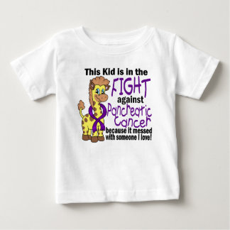 Kid In The Fight Against Pancreatic Cancer Baby T-Shirt