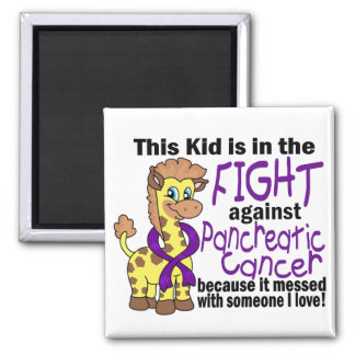 Kid In The Fight Against Pancreatic Cancer Magnet