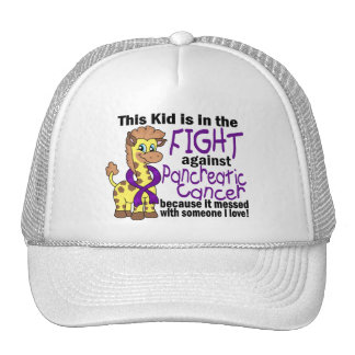 Kid In The Fight Against Pancreatic Cancer Trucker Hat