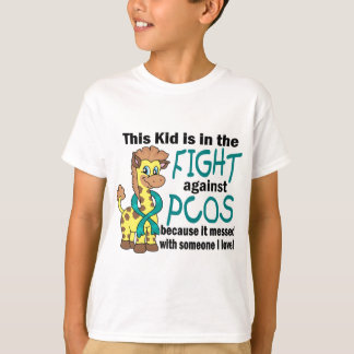 Kid In The Fight Against PCOS T-Shirt