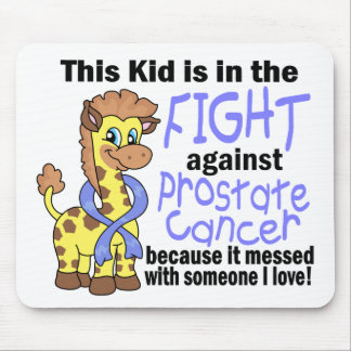 Kid In The Fight Against Prostate Cancer Mouse Pad