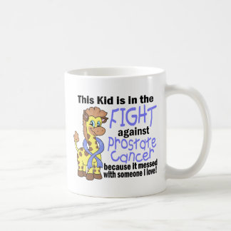 Kid In The Fight Against Prostate Cancer Coffee Mugs