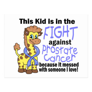 Kid In The Fight Against Prostate Cancer Postcard