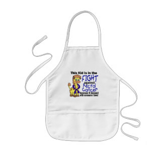 Kid In The Fight Against Rectal Cancer Kids' Apron