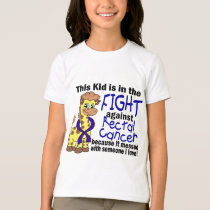 Kid In The Fight Against Rectal Cancer T-Shirt