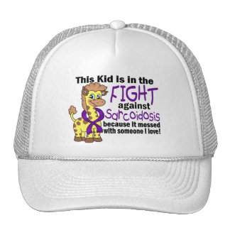 Kid In The Fight Against Sarcoidosis Trucker Hat