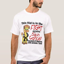 Kid In The Fight Against Skin Cancer T-Shirt