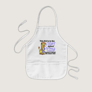 Kid In The Fight Against Stomach Cancer Kids' Apron