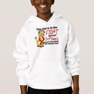 Kid In The Fight Against Strokes Hoodie