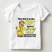 Kid In The Fight Against Testicular Cancer Baby T-Shirt