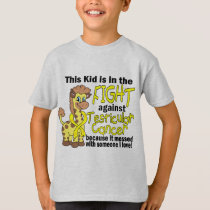 Kid In The Fight Against Testicular Cancer T-Shirt