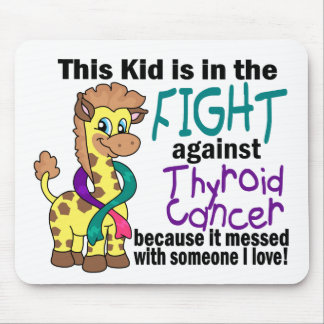 Kid In The Fight Against Thyroid Cancer Mouse Pad