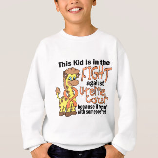 Kid In The Fight Against Uterine Cancer Sweatshirt