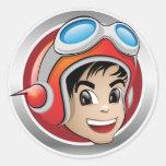 Kid Kalculator Sticker