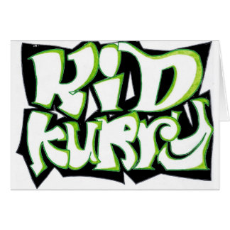 Kid Kurry T-Shirt Final Card