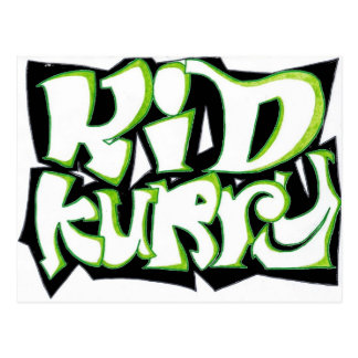 Kid Kurry T-Shirt Final Postcard