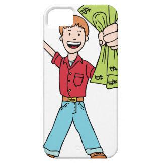 Kid Making money Cartoon iPhone SE/5/5s Case