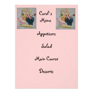 kid menu invites