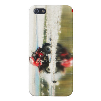 Kid on Quad Customize with your Initials Cover For iPhone SE/5/5s